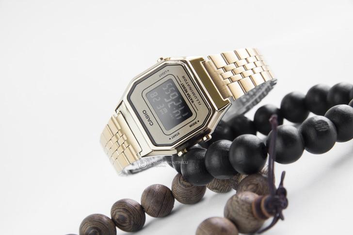 Đồng hồ Casio LA680WGA-9BDF: Lột xác với thiết kế quen thuộc - Ảnh 6