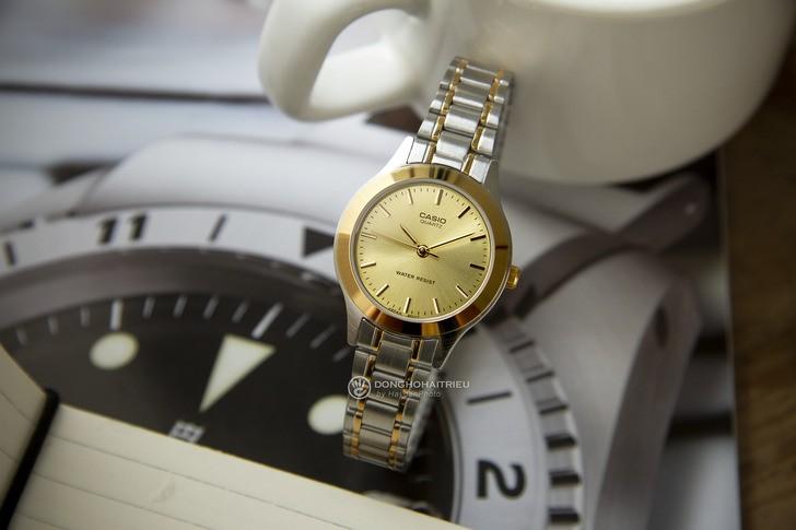 Đồng hồ Casio LTP-1128G-9ARDF giá rẻ, thay pin miễn phí - Ảnh 1