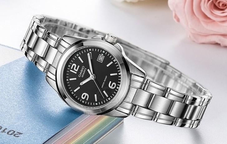 Đồng hồ nữ Casio LTP-1215A-1ADF giá rẻ, thay pin miễn phí - Ảnh 2