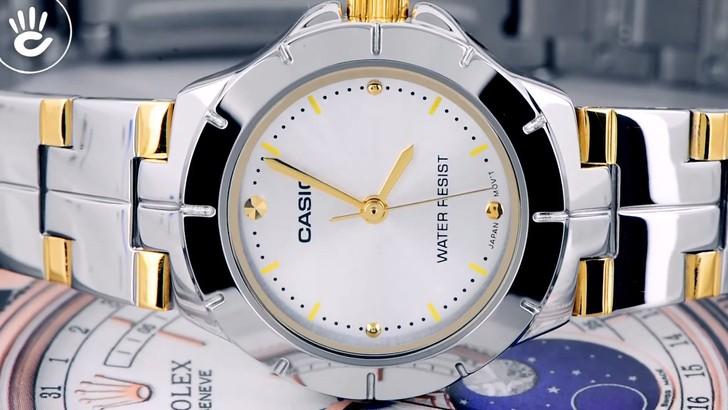 Đồng hồ Casio LTP-1242SG-7CDF giá rẻ, thay pin miễn phí - Ảnh 8