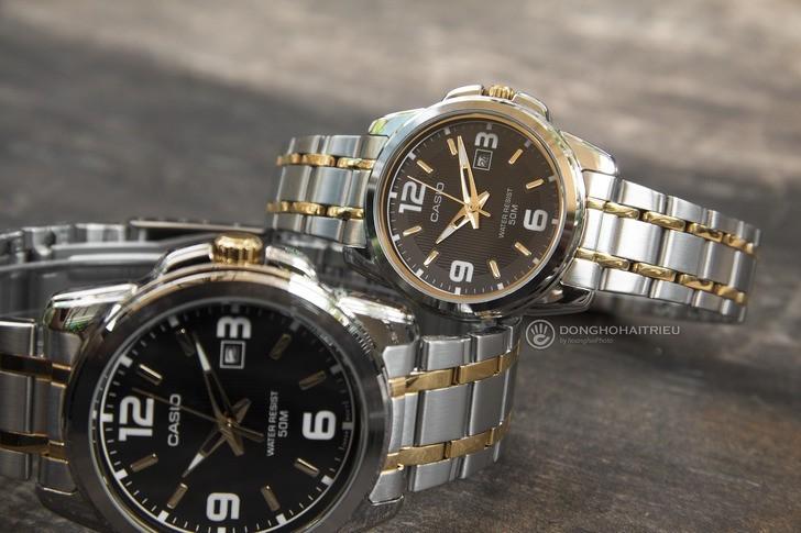 Đồng hồ Casio LTP-1314SG-1AVDF giá rẻ, miễn phí thay pin - Ảnh 1