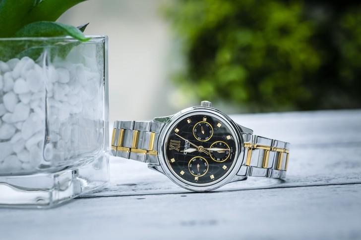Đồng hồ Casio LTP-E306SG-1AVDF: Thiết kế đề cao sự cân đối - Ảnh 6