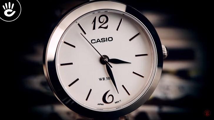 Đồng hồ Casio LTP-E402PG-9AVDF ấn tượng với sắc hồng nữ tính - Ảnh 3