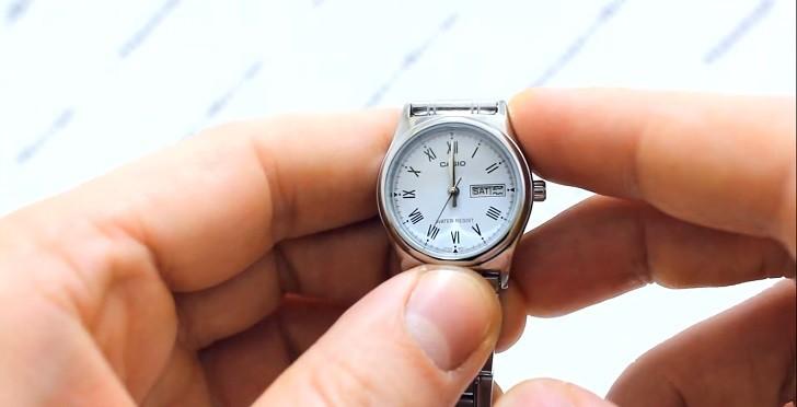 Đồng hồ Casio LTP-V006D-2BUDF giá rẻ, free thay pin trọn đời - Ảnh 3