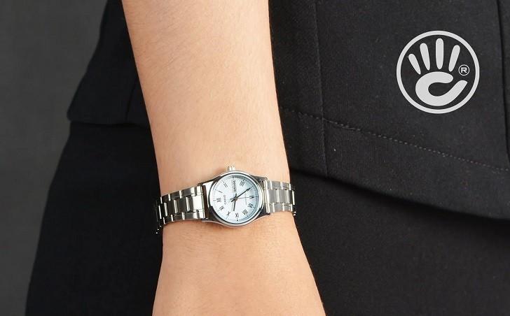 Đồng hồ Casio LTP-V006D-2BUDF giá rẻ, free thay pin trọn đời - Ảnh 4