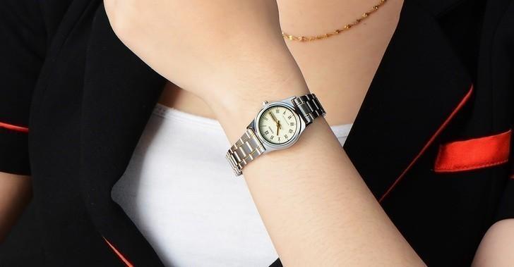 Đồng hồ Casio LTP-V006SG-9BUDF thay pin miễn phí trọn đời - Ảnh 2