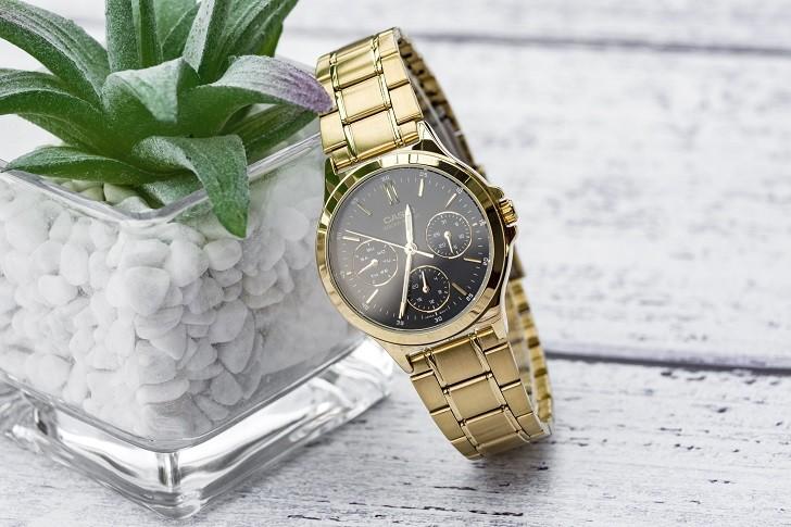 Đồng hồ nữ Casio LTP-V300G-1AUDF thay pin miễn phí trọn - Ảnh 1