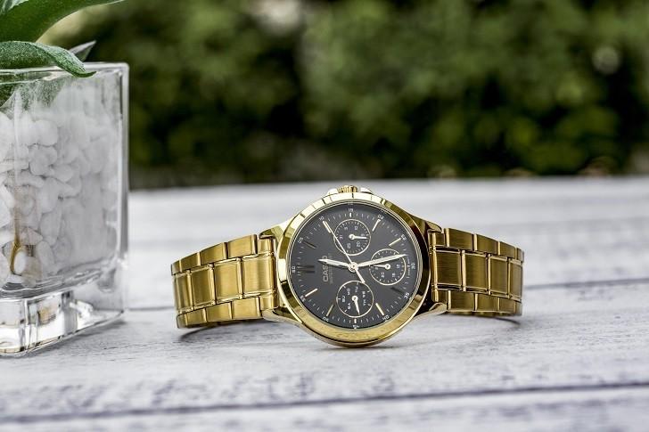 Đồng hồ nữ Casio LTP-V300G-1AUDF thay pin miễn phí trọn - Ảnh 3