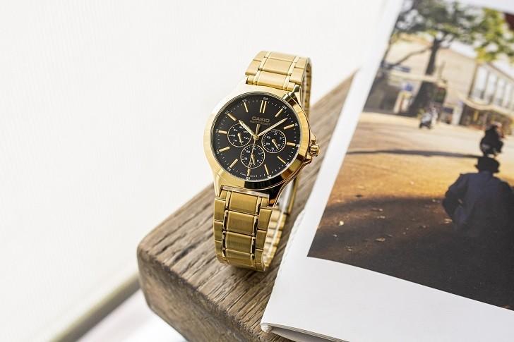 Đồng hồ nữ Casio LTP-V300G-1AUDF thay pin miễn phí trọn - Ảnh 5
