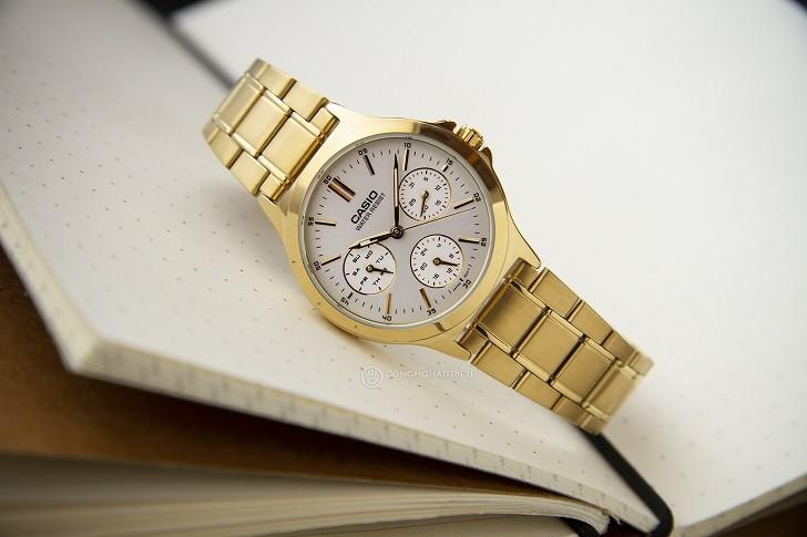 Đồng hồ Casio LTP-V300G-9AUDF đa năng, mạ vàng sang trọng - Ảnh 2