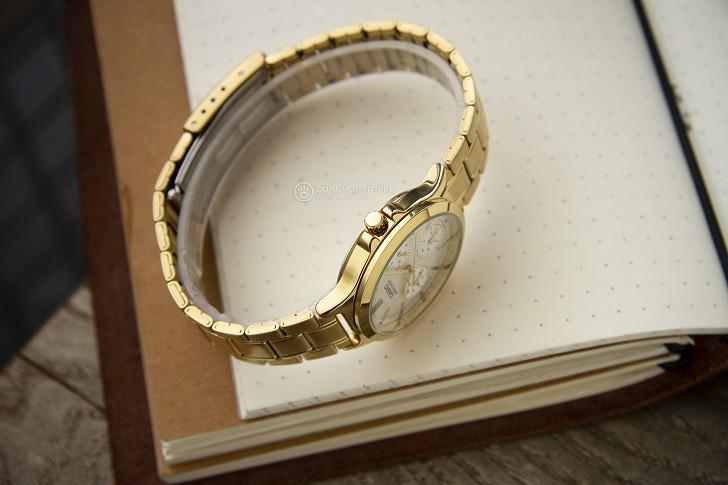 Đồng hồ Casio LTP-V300G-9AUDF đa năng, mạ vàng sang trọng - Ảnh 5