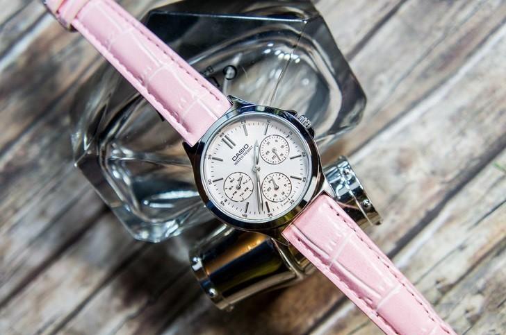 Đồng hồ Casio LTP-V300L-4AUDF màu hồng, miễn phí thay pin - Ảnh: 3