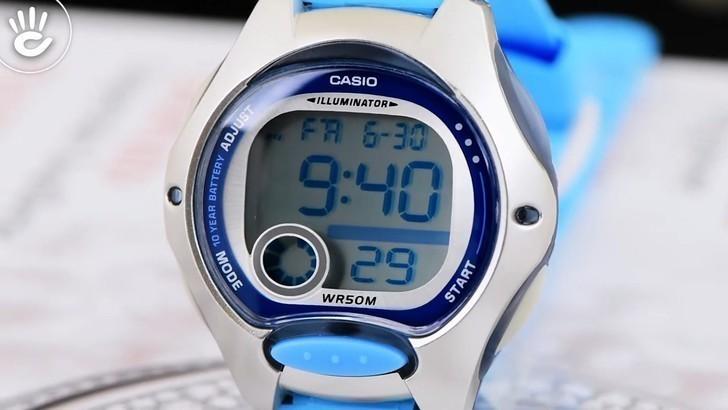Đồng hồ nữ Casio LW-200-2BVDF giá rẻ, thay pin miễn phí - Ảnh 2