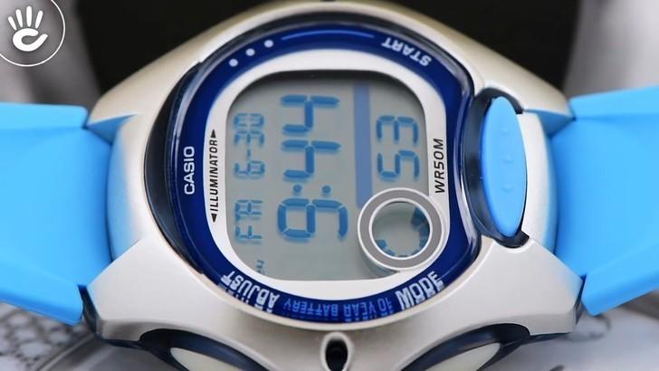Đồng hồ nữ Casio LW-200-2BVDF giá rẻ, thay pin miễn phí - Ảnh 3