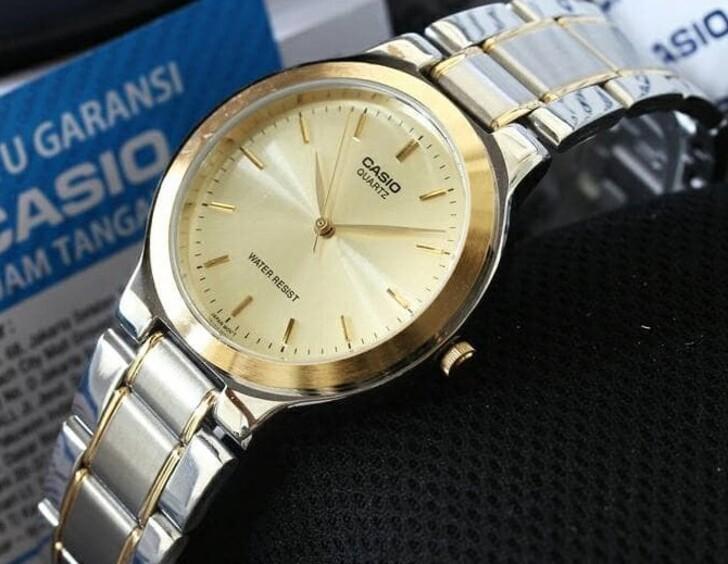 Đồng hồ Casio MTP-1128G-9ARDF giá rẻ, thay pin miễn phí - Ảnh 2