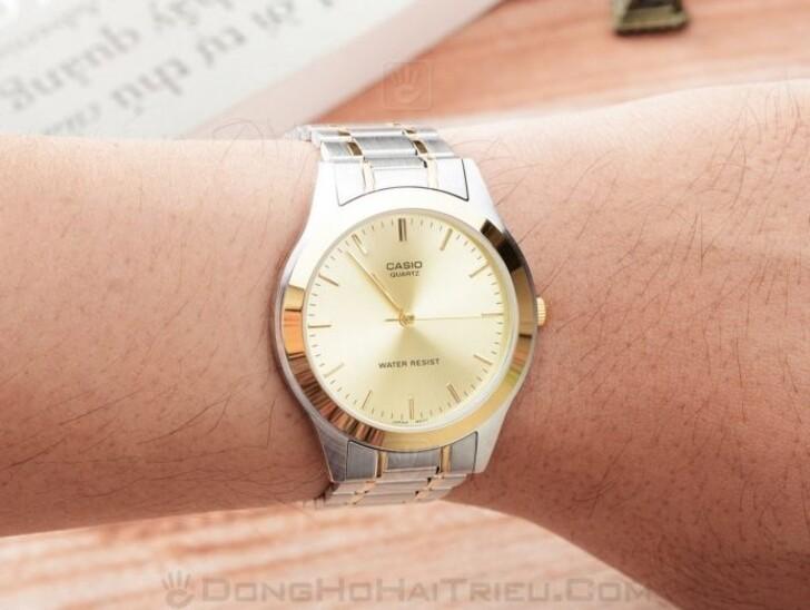 Đồng hồ Casio MTP-1128G-9ARDF giá rẻ, thay pin miễn phí - Ảnh 3