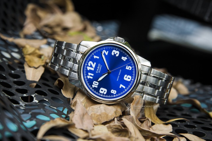 Đồng hồ nam Casio MTP-1216A-2BDF giá rẻ, thay pin miễn phí - Ảnh 1