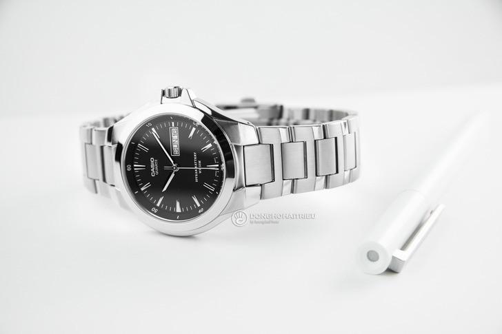 Đồng hồ Casio MTP-1228D-1AVDF giá rẻ, thay pin miễn phí - Ảnh 1