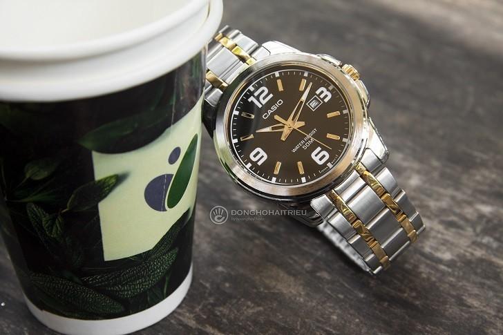 Đồng hồ Casio MTP-1314SG-1AVDF giá rẻ, thay pin miễn phí - Ảnh 1