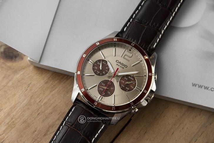 Đồng hồ Casio MTP-1374L-7A1VDF giá rẻ, thay pin miễn phí - Ảnh 1