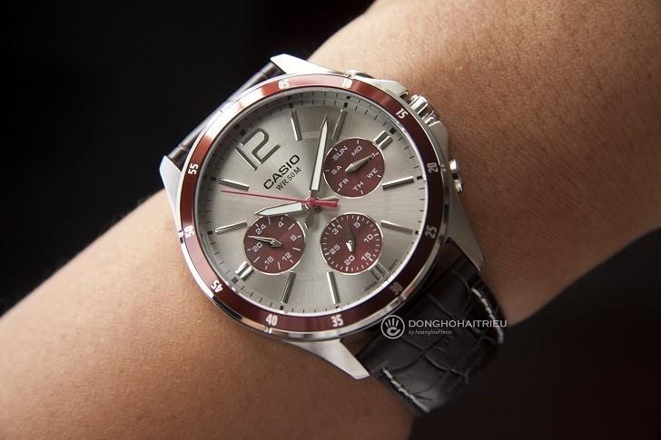 Đồng hồ Casio MTP-1374L-7A1VDF giá rẻ, thay pin miễn phí - Ảnh 4