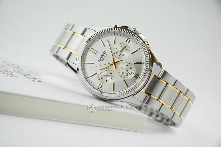 Đồng hồ nam Casio MTP-1375SG-9AVDF tích hợp 3 chức năng phụ - Ảnh: 1