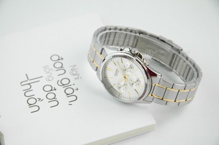 Đồng hồ nam Casio MTP-1375SG-9AVDF tích hợp 3 chức năng phụ - Ảnh: 2