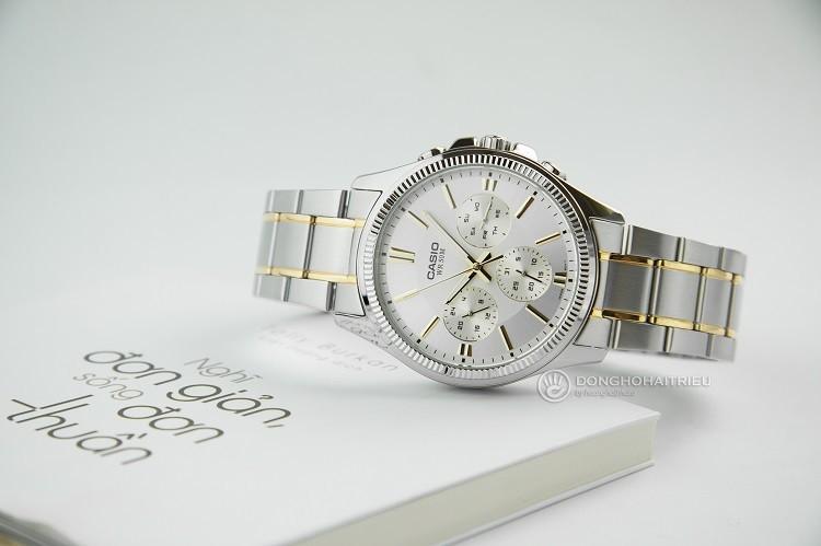 Đồng hồ nam Casio MTP-1375SG-9AVDF tích hợp 3 chức năng phụ - Ảnh: 4