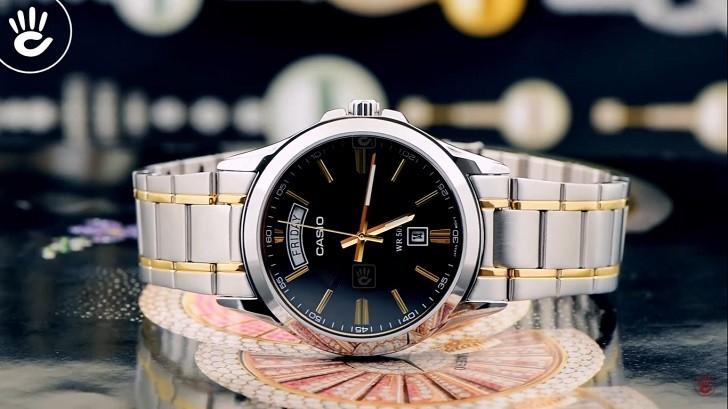 Đồng hồ Casio MTP-1381G-1AVDF giá rẻ, thay pin miễn phí - Ảnh 1