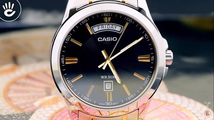 Đồng hồ Casio MTP-1381G-1AVDF giá rẻ, thay pin miễn phí - Ảnh 2