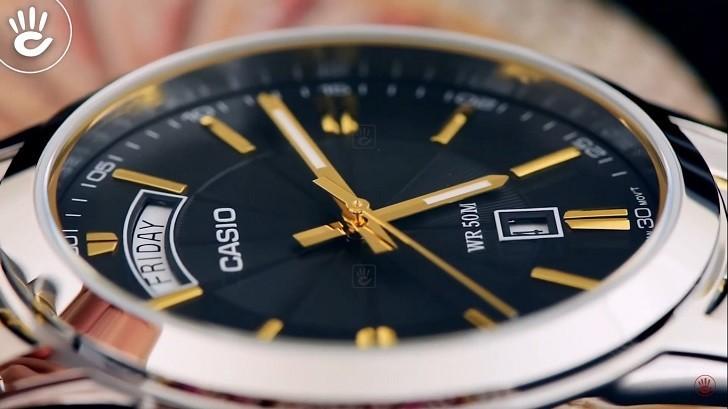 Đồng hồ Casio MTP-1381G-1AVDF giá rẻ, thay pin miễn phí - Ảnh 3