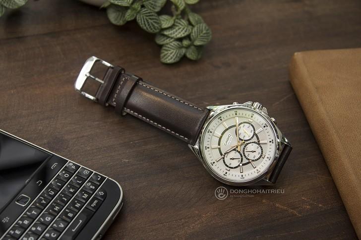 Đồng hồ Casio MTP-E303L-7AVDF đa nhiệm, máy Nhật bền bỉ - Ảnh 1