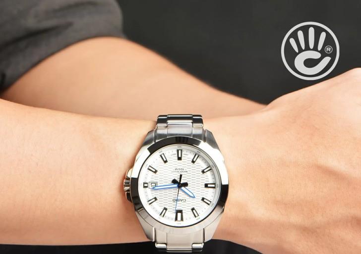 Đồng hồ Casio MTP-E400D-7AVDF: Thiết kế cứng cáp và bền bỉ - Ảnh 1