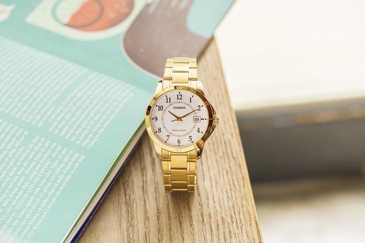 Đồng hồ Casio MTP-V004G-7BUDF giá rẻ, thay pin miễn phí - Ảnh 3