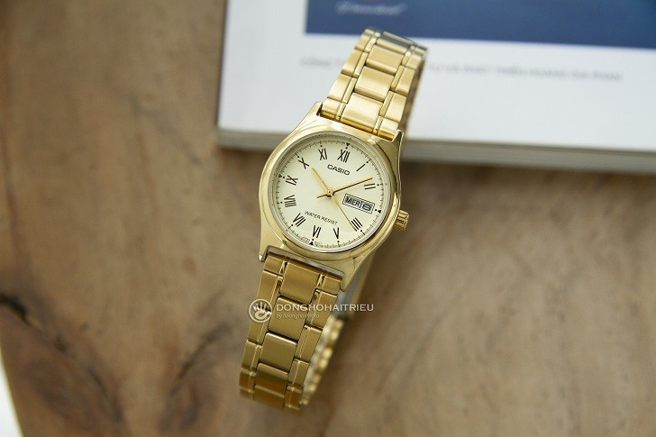Đồng hồ Casio MTP-V006G-9BUDF giá rẻ, thay pin miễn phí - Ảnh 1