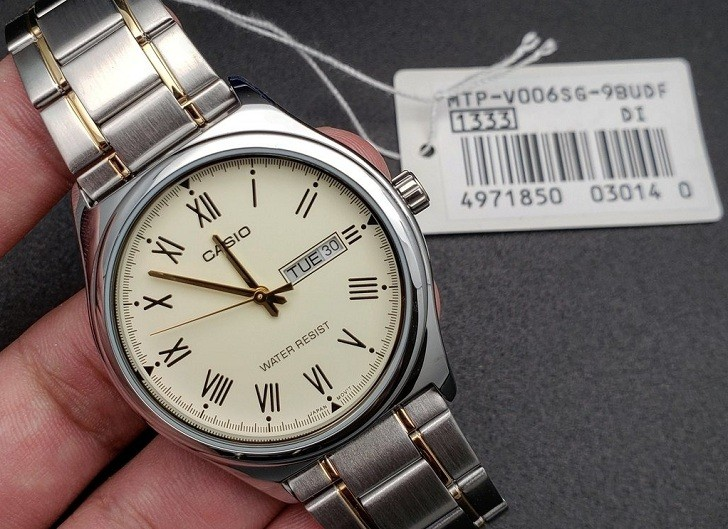 Đồng hồ Casio MTP-V006SG-9BUDF giá rẻ, thay pin miễn phí - Ảnh 3