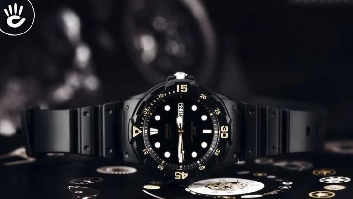 Đồng hồ Casio MRW-200H-1EVDF giá rẻ và thay pin miễn phí - Ảnh 1