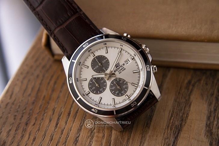 Đồng hồ Casio Edifice EFR-526L-7AVUDF giá rẻ, có chronograph - Ảnh: 6