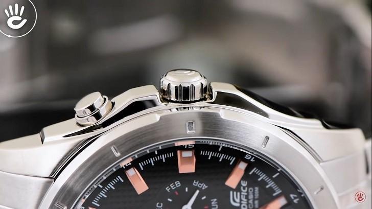 Đồng hồ Edifice Casio EF-328D-1A5VUDF thay pin miễn phí - Ảnh 4