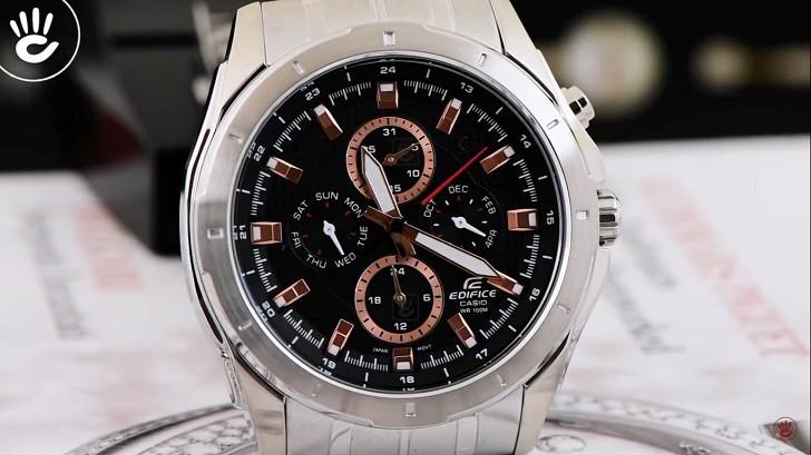 Đồng hồ Edifice Casio EF-328D-1A5VUDF thay pin miễn phí - Ảnh 5