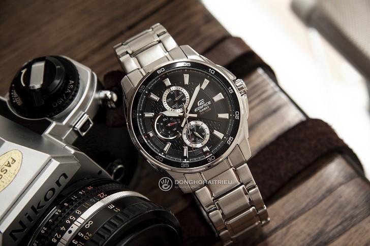 Đồng hồ nam Casio EF-334D-1AVUDF giá rẻ, thay pin miễn phí - Ảnh 1