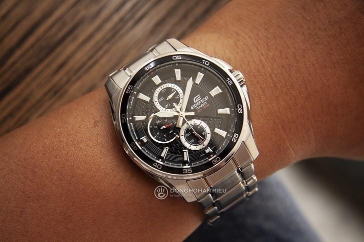 Đồng hồ nam Casio EF-334D-1AVUDF giá rẻ, thay pin miễn phí - Ảnh 4