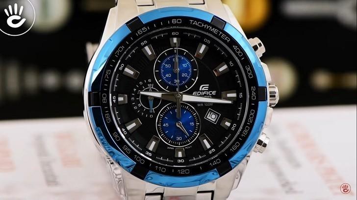 Đồng hồ Casio EF-539D-1A2VUDF giá rẻ, thay pin miễn phí - Ảnh 4