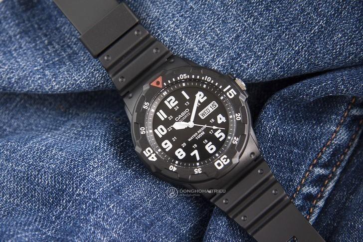 Đồng hồ Casio MRW-200H-1BVDF giá rẻ, thay pin miễn phí - Ảnh 1