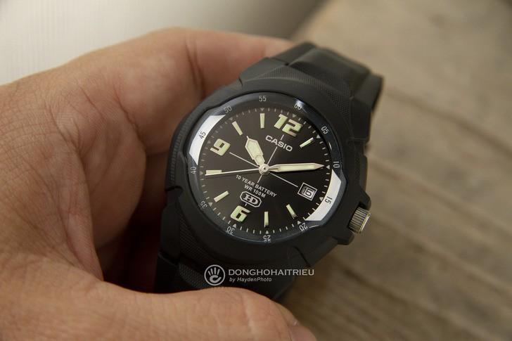 Đồng hồ Casio MW-600F-1AVDF giá rẻ và thay pin miễn phí - Ảnh 3