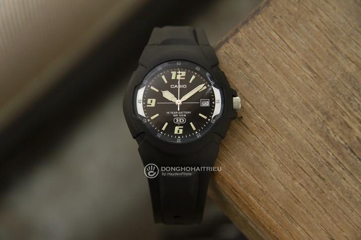 Đồng hồ Casio MW-600F-1AVDF giá rẻ và thay pin miễn phí - Ảnh 8