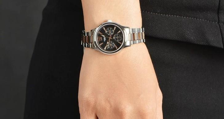 Đồng hồ Casio LTP-2085RG-1AVDF giá rẻ, thay pin miễn phí - Ảnh 1