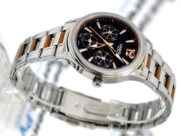 Đồng hồ Casio LTP-2085RG-1AVDF giá rẻ, thay pin miễn phí - Ảnh 2