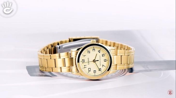 Đồng hồ nữ Casio LTP-V001G-9BUDF sở hữu thiết kế tinh tế - Ảnh 1