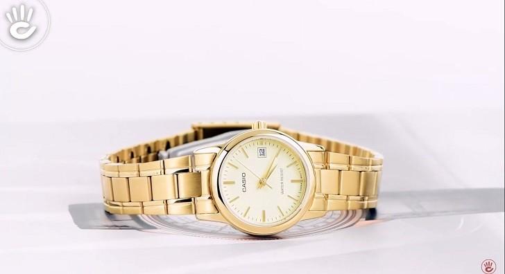 Đồng hồ nữ Casio LTP-V002G-9AUDF giá rẻ, thay pin miễn phí - Ảnh 1